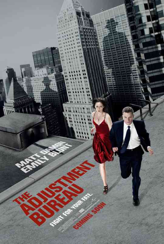 Adjustment Bureau, The Poster