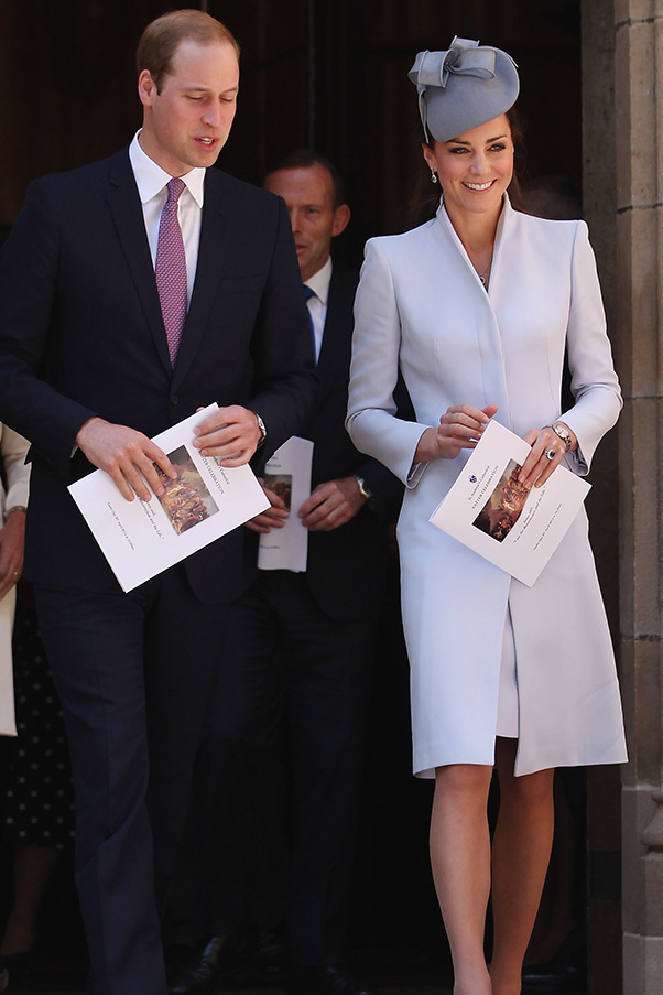 royal tour 2014: Duchess of Cambridge style watch