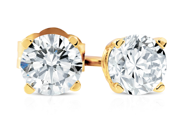 Michael Hill - Diamond Solitaire Earrings