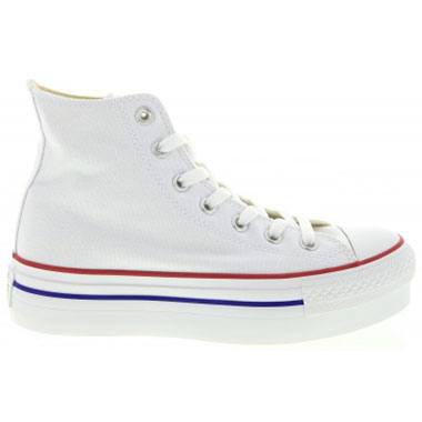 Chuck Taylor Platform High Top Sneakers in White