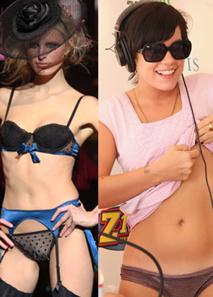 Celebrity body oddities