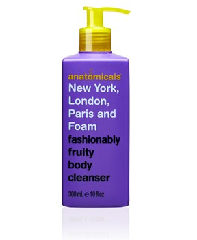 Anatomicals Fashionably Fruity Body Cleanser, 300mL