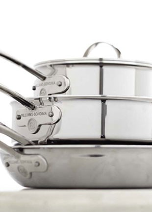 Williams-Sonoma Thermo-Clad Stainless Steel Cookware