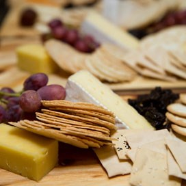 Event highlights: Cheese and wine-tasting