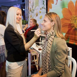 Event highlights: Natural Beauty - an exclusive makeover