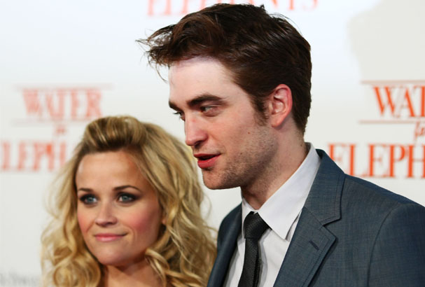 Robert Pattinson and Reese Witherspoon.