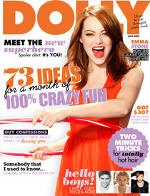 July DOLLY magazine cover
