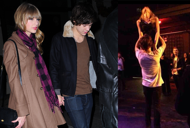 Haylor performing the lift from 1987 movie Dirty Dancing.