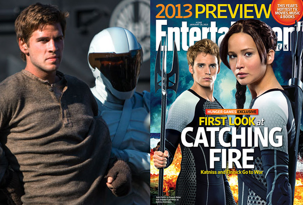 Gale Hawthorne (Liam Hemsworth) and the new EW cover.