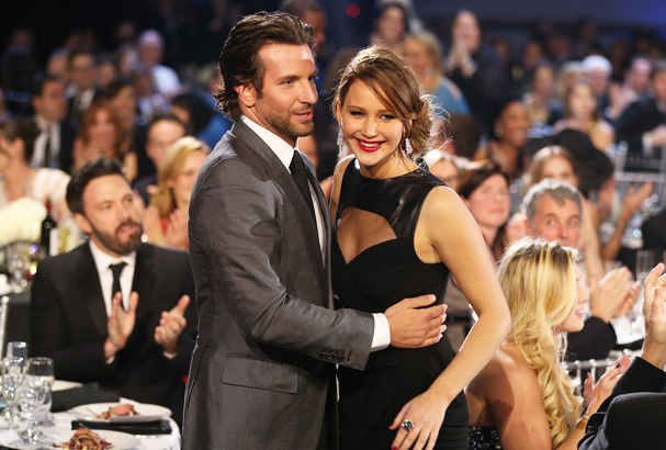 Jennifer and Bradley at the 2013 Golden Globes.