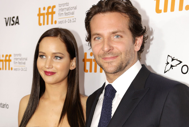 "The co-stars attend the ""Silver Linings Playbook"" premiere."