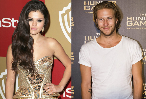 Is Selena Gomez dating Luke Bracey?