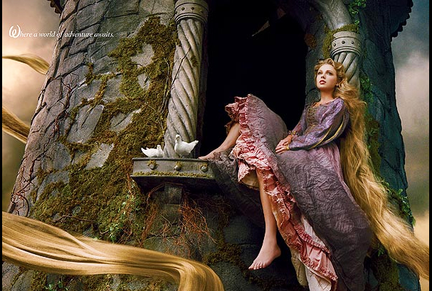 Taylor Swift stars as Rapunzel for Disney