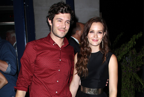 Leighton and Adam attend the after party for The Oranges.
