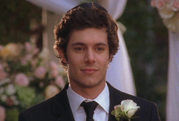 Adam Brody as Seth Cohen in The OC.