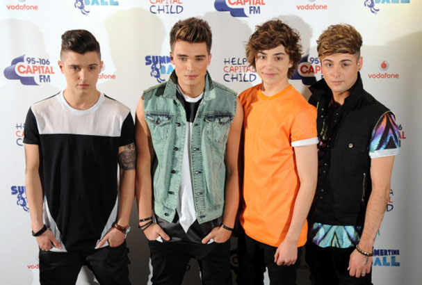 Union J acoustic version of 'Carry You'