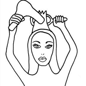 The perfect blow dry - Step Two