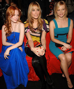 Rose McGowan, Molly Sims and Amy Smart