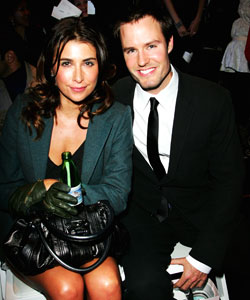 Jodhi Meares and Jonathan Pease