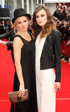 Sienna Miller and Keira Knightly