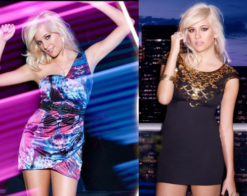 Pixie Lott for Lipsy