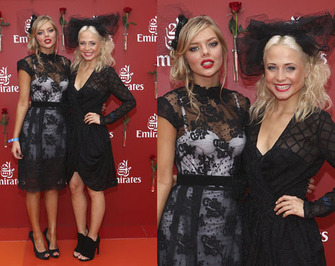 Tessa James and Samara Weaving