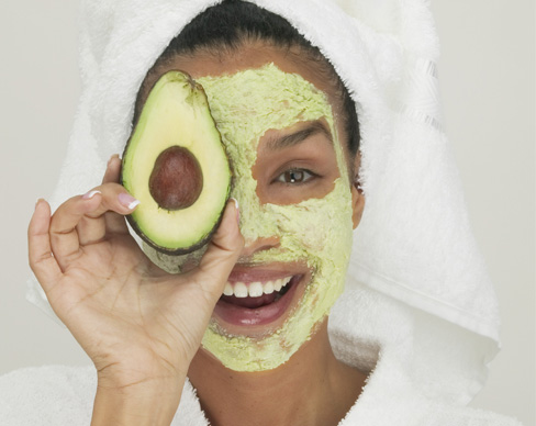 Banish dry skin with avocado