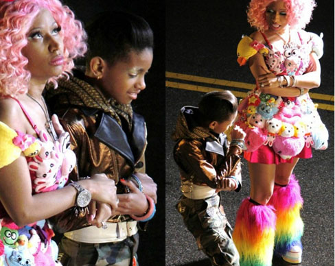 Nicki Minaj and Willow Smith — 'Fireball'