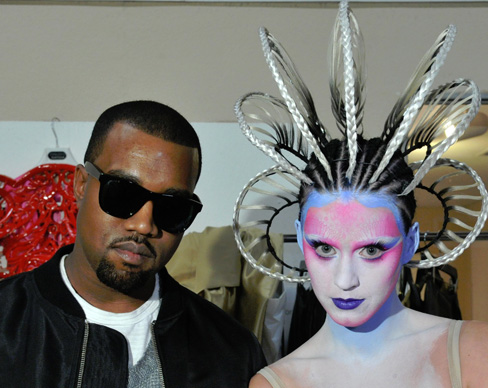 Katy Perry and Kanye West — 'ET'