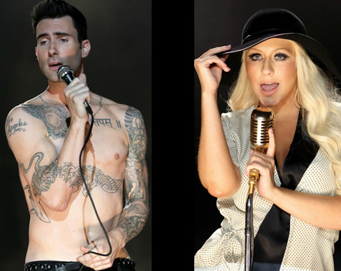 Maroon 5 and Christina Aguilera — 'Moves Like Jagger'