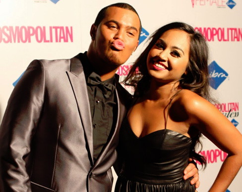 Stan Walker and Jess Mauboy — 'Galaxy'