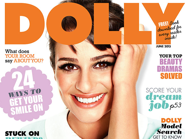 June DOLLY magazine cover