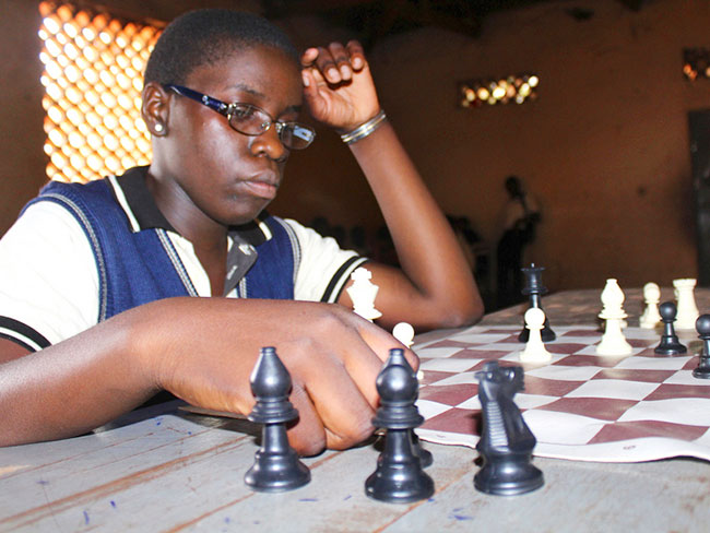 """Playing chess changed my life"""