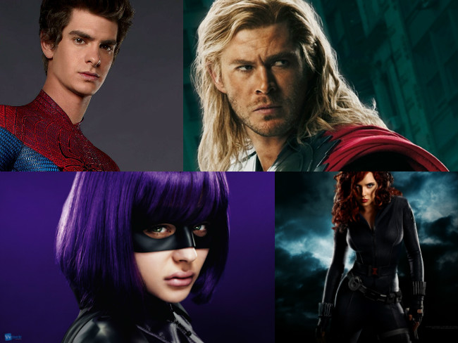 Hottest On-Screen Superheroes