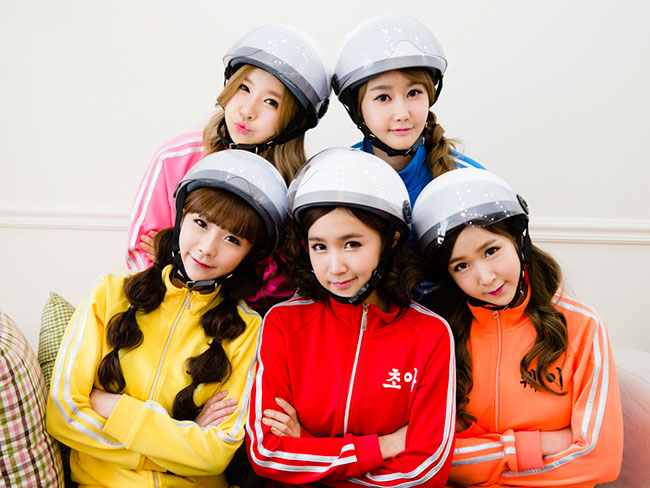 Crayon Pop Bring K-Pop to Aussie Shores
