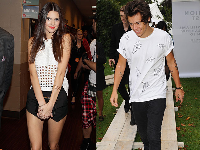 Kendall Jenner takes Harry Styles to meet her dad