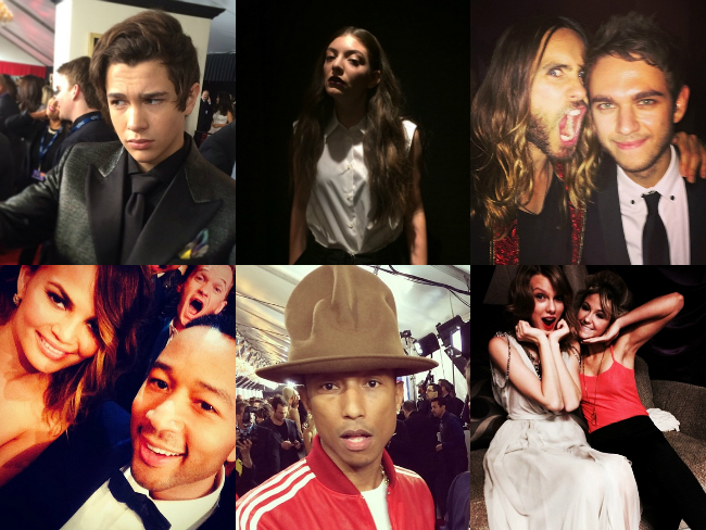 Instagrammy: Celeb Posts From The Grammy's
