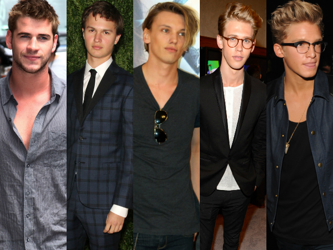 The hot guys of Hollywood