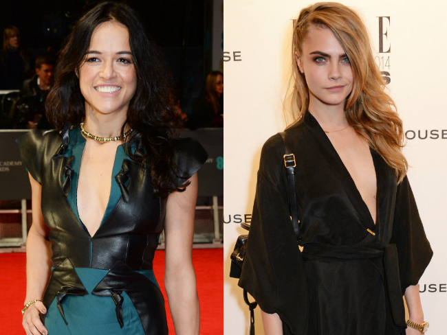 Cara Delevingne and Michelle Rodriguez have commitment ceremony in Thailand