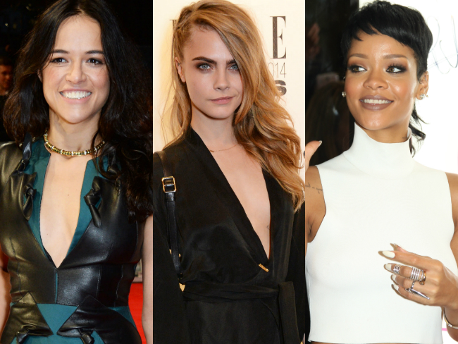 Michelle Rodriguez demands Cara Delevingne stops hanging out with Rihanna