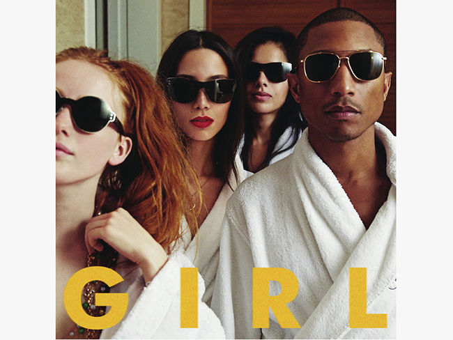 Review: Pharrell Williams, G I R L