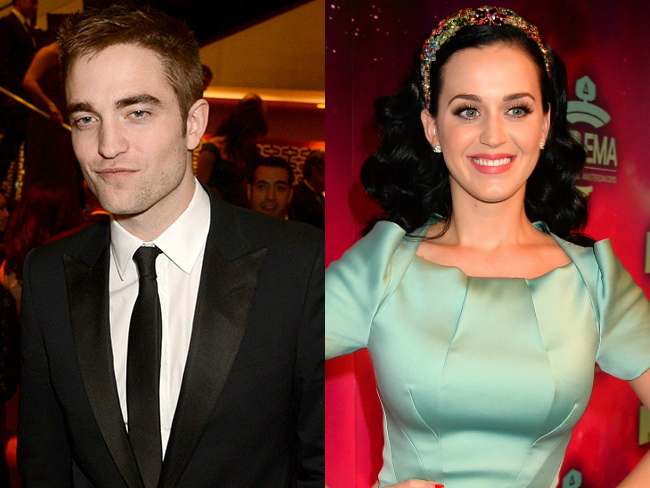 Robert Pattinson and Katy Perry hooking up after John Mayer split