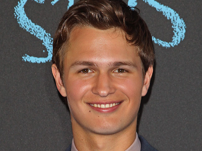 Ansel Elgort is in a new movie!
