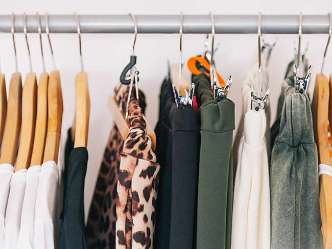 What your wardrobe clutter says about you