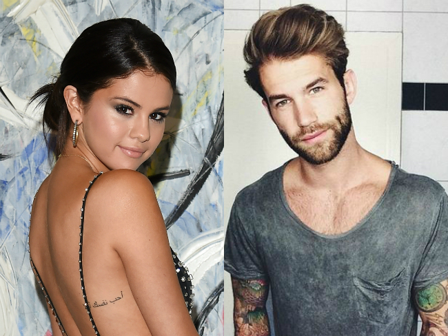German model admits he 'definitely has a crush' on Selena Gomez