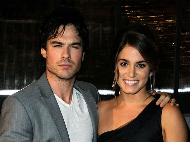 Ian Somerhalder defends Nikki Reed's breaking of girl code