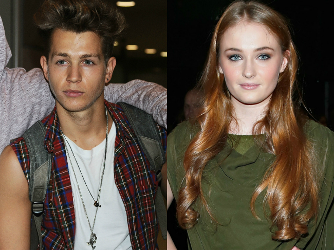 Cute couple: Sophie Turner and The Vamps James McVey