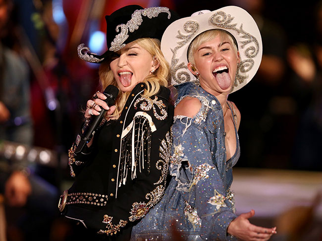 Miley Cyrus and Madonna to make music together