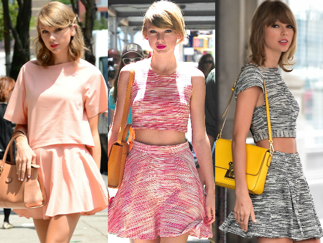 Taylor Swift loves matching sets