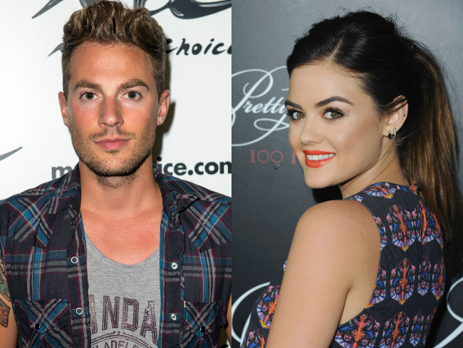Lawson's Adam Pitts is dating Lucy Hale